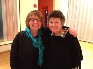 Kay Adams & Deborah Ross
