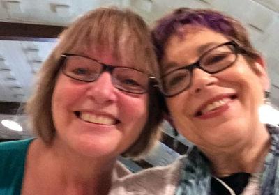 Kay Adams and Linda Joy