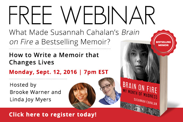 How to Write a Memoir That Changes Lives – Free Webinar September 12, 2016